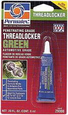 New listing Permatex Penetrating Grade Threadlocker Green 6 Ml 29000