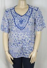 Katies Paisley Short Sleeve Regular Tops & Blouses for Women