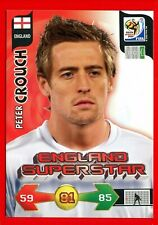 SOUTH AFRICA 2010 - Adrenalyn Panini - Card ENGLAND SUPERSTAR - CROUCH
