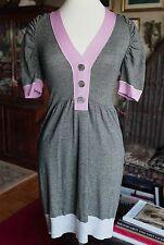 New Peter Som knitted metallic dress, sz Small