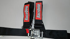 Black Race Car Seat Belts,5 pt Safety Harness,Imca,Wissota,Hot Rod,Rat Rod.Nhra