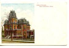 Historic Amelia Palace-Gardo House-Salt Lake City-Utah-Vintage Und/B Postcard
