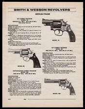 1995 SMITH & WESSON Model 19, 66 .357 Combat Magnum and 586 Revolver AD