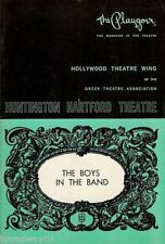 """Cliff Gorman """"THE BOYS IN THE BAND"""" Mart Crowley 1969 Los Angeles Playbill"""
