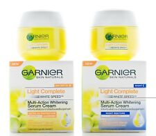 50ml GARNIER SKIN NATURALS LIGHT COMPLETE WHITE SPEED WHITENING SERUM CREAM