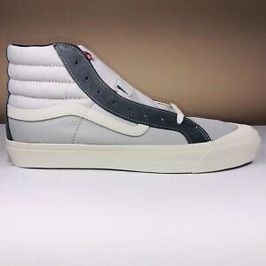 Vans Og Style 138 Lx Suede Pearl Grey Skatboard Shoes VN0A45KDVZG1 Men Size 11