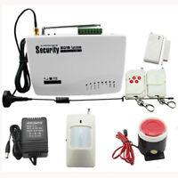 WIRELESS GSM AUTODIAL SMS HOME OFFICE SECURITY DIY BURGLAR INTRUDER ALARM System