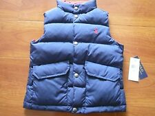 NWT $100 POLO RALPH LAUREN REVERSIBLE DOWN VEST SZ 3/3T