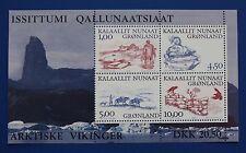 Greenland (383a) 2001 Arctic Vikings MNH minisheet