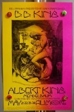 B.B. King Albert King Bg235 BiLl Graham FiLlmore WeSt FirSt Print 1970 PoSter