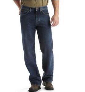 LEE Loose Fit Jeans Custom Fit Waist Stretch Big & Tall Drifter Medium $70 Blue