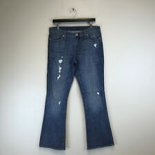 Rock & Republic Jeans Kasandra Bootcut Distressed Wash Tag Size 14 (34x32) #5892