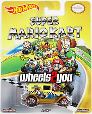 A-OK - Super Mario Kart - 2015 Hot Wheels Pop Culture REAL RIDERS