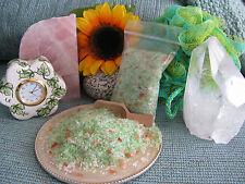 New Natural Mint & Eucalyptus Ache & Pain Relief Mineral Bath & Shower Salts-3oz