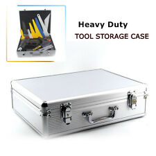 Carrying Case Pocket Tool Holder Multi use ABS Storage Box With Security Lock
