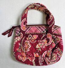 Vera Bradley Piccadilly Plum Mini Handbag Purse Tote