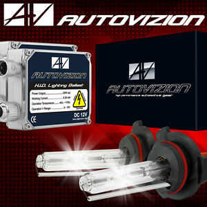 AUTOVIZION HID Kit Xenon 55W Conversion Headlight Fog H1 H3 H4 H7 H10 H11 9006