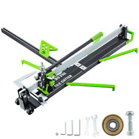 "31"" Manual Tile Cutter Laser Guide Cutting Machine Professional Handyman Precise"