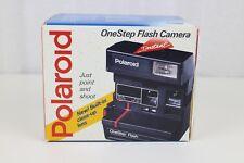 Polaroid One Step Flash 600 Instant Camera W/ original box and manual