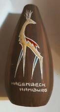 L Ancora Kroon Kroonenberg Ceramics Hagenbeck Hamburg KeraTeak Reindeer Vase #93