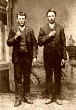 Jesse James and Frank James 1872 7x5 Inch Reprint Photo