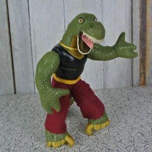 "Vintage Applause Dinosaur Wrestling Federation Slamasaurs Jointed 10"" Plush"