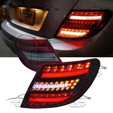 REAR TAIL LED BAR LIGHT RED-SMOKE FOR MERCEDES CLASS C W204 07-11 S204 SALOON