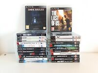 PS3 Game Bundle x23 Joblot Sony PlayStation 3 PAL