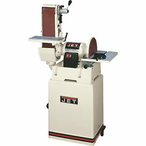 JET Combination Belt and Disc Sander with Closed Stand, Model#JSG-6CS