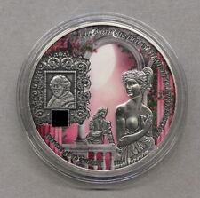 "Benin 5000 Francs 2014, "" Romeo+Julia"", 5 Unzen Feinsilber, selten"