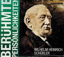 HÖRBUCH-CD NEU/OVP - Wilhelm Heinrich Schüßler - Berühmte Persönlichkeiten