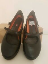 Clarks Uk 6 H   Black Unstructured Mary Janes New Unboxed