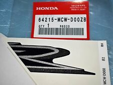 autocollant Logo de flanc droit HONDA VFR 800 2002/2004 64215-MCW-D00ZB