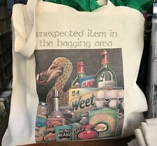 SIMON DREW LARGE TOTE BAG MATCH TOWEL: DODO UNEXPECTED HEINZ ITEM IN BAGGING