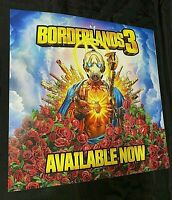"BORDERLANDS 3 POSTER 24"" X 24"" GameStop Promotional POSTER"