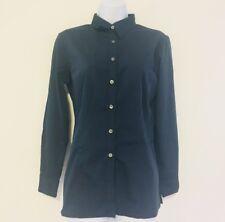 New Wear Guard Women's Size S Long Sleeve Shirt Navy Exclusively Aramark Ff63