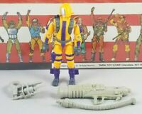 Original 1989 GI JOE COBRA HEAT VIPER UNBROKEN figure not COMPLETE Army Builder