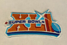 Nfl Championship Game Super Bowl Xli Superbowl Sb 41 Colts Bears Jersey Patch