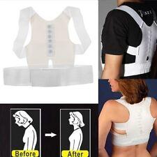 Unisex Magnetic Therapy Posture Back Shoulder Corrector Support Young Brace Belt