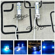 NEW 2x H3 8000K ICE BLUE 100W CREE LED Headlight Bulbs Kit Fog Driving Light