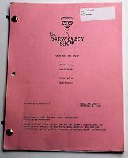 The Drew Carey Show * 2000 Original TV Show Script * Season 6, Episode 16