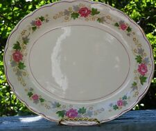 GORGEOUS GRINDLEY CREAM PETAL 12 INCH SERVING PLATTER FROM ENGLAND