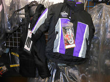 Choko NOS Youth PURPLE Size 3 Snowmobile Jacket and bib pants
