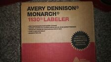 Avery Dennison Monarch 1130 Series Labeler. Brad New in Box w/Instructions & ink