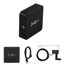 DAB+ Digital Audio Broadcasting Receiver Box Radio Antenna Tuner FM Transmission
