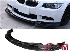 3D LOOK CARBON FIBER FRONT LIP SPOILER FOR 2008-2013 BMW E90 E92 E93 M3