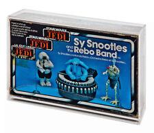 GW Acrylic Display Case Boxed Vintage Tri-logo Sy Snootles & Rebo Band MIB
