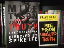 Mike Tyson Signed Undisputed Truth Program Plus Broadway Playbill (Not Signed)