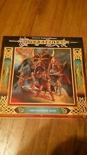Dragon Lance 1985 Calendar TSR Dungeons and Dragons VINTAGE rare Dragonlance