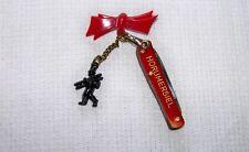 Vtg. HORUMERBIEL GERMANY Miniature Solingen Folding Knife Chimney Sweep Bow Pin